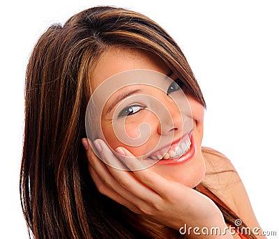 Perfect girl smile