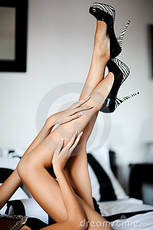 Perfect long legs