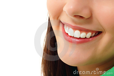 Perfect smile healthy tooth
