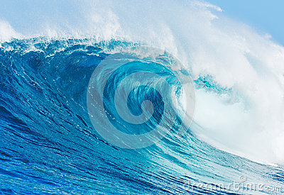 Perfect Surfing Wave