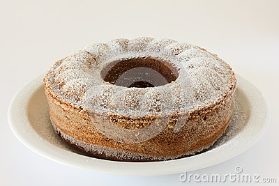 Perfectly baked chocolate bundt, pound, madeira or