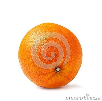 Perfectly fresh orange