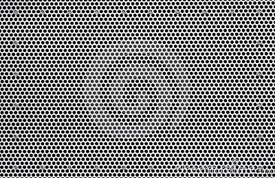 Chapa perforada textura