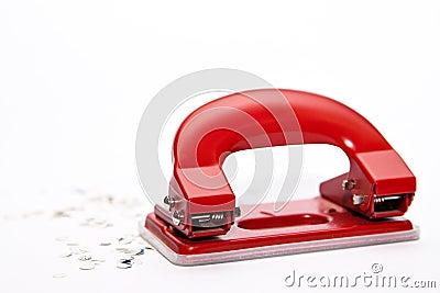 Perforateur de trou et confettis