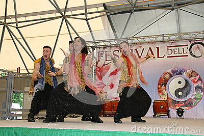 Performance of Bollymasala Dance Company