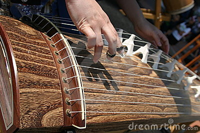 Performance on koto