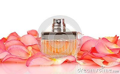 Perfume in a beautiful bottle
