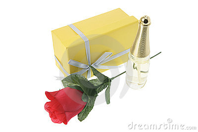 Perfume Bottle and Gift Box