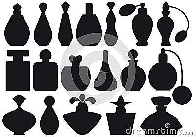 Perfume bottles,