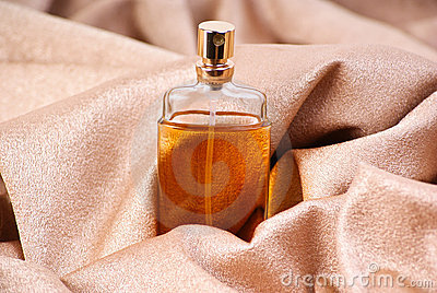 Perfume on textile