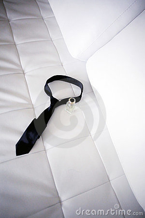 Perfume and tie