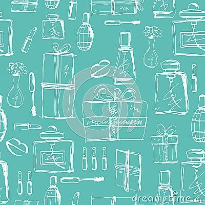 Free Perfumery, Lipstick And Gift Stock Photo - 67471810