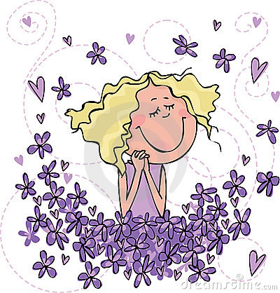 Perfumowanie fiołki