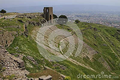 Pergamon acropolis theater