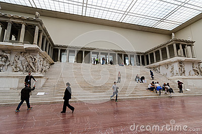 Pergamon Altar Editorial Stock Image