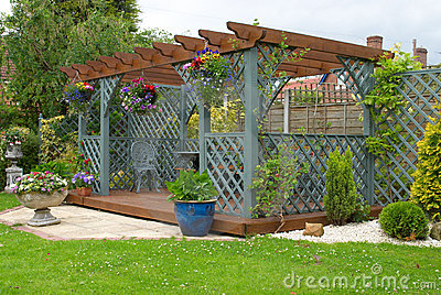 Pergola Stock Photography - Image: 7401632