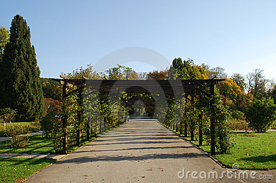 Pergola Stock Photos - Image: 9818463