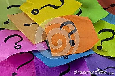Perguntas ou conceito da tomada de decisão