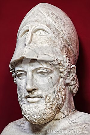 Pericles Bust Stock Photo Image 45126192