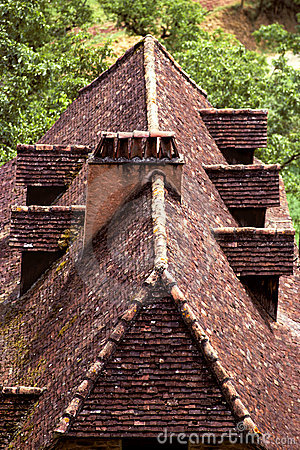 Free Perigord Roof Royalty Free Stock Photo - 1649345