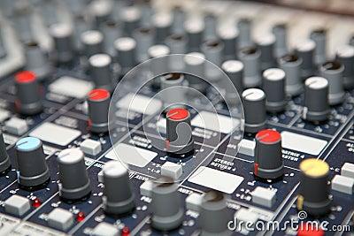 Botones de los sonidos