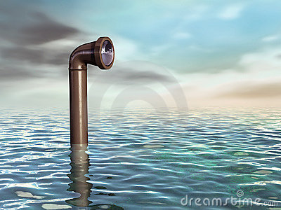Periscopio submarino