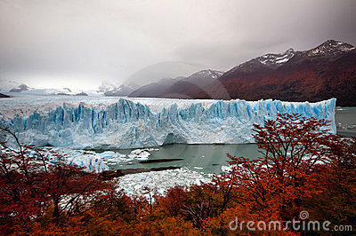 Perito του Moreno παγετώνων