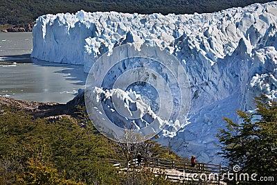 Perito Moreno Glacier - Patagonia - Argentina Editorial Image