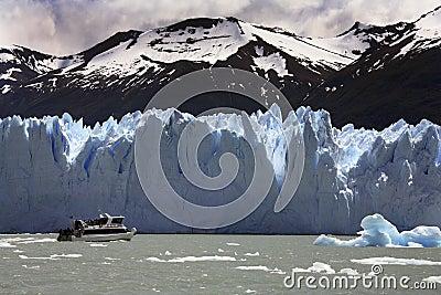 Perito Moreno Glacier - Patagonia - Argentina Editorial Photography