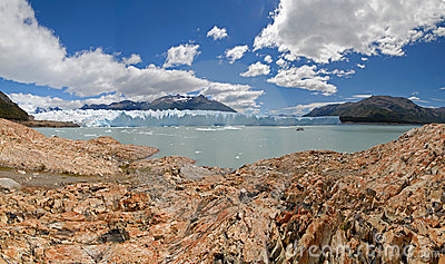 The Perito Moreno Glacier In Patagonia, Argentina. Stock Photo - Image: 4471360