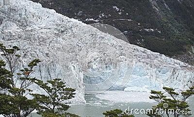 Perito Moreno glacier tongue. Argentina. South america