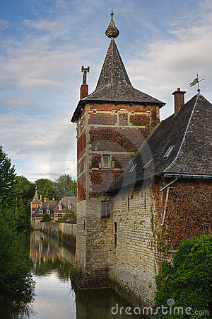 Perk castle in Flanders