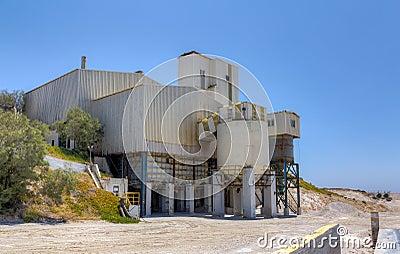 Perlite processing facility