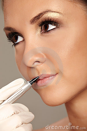 Free Permanent Make-up Royalty Free Stock Photo - 16170015