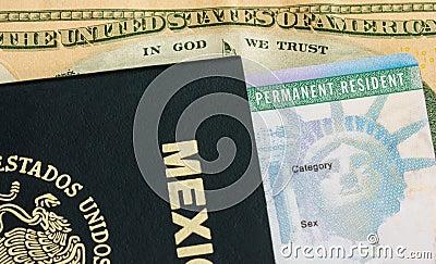 Permanent Resident Green Card