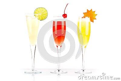 Pernod Fizz, Millennium and Orange alcohol cocktail