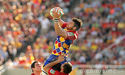 Perpignan s player Damien Chouly Editorial Stock Image
