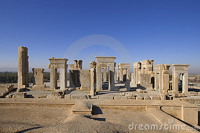 Persepolis - the palace of Darius I