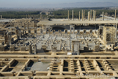 Persepolis, The Palace of 100 Collumns