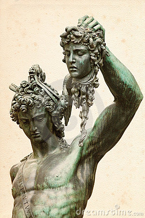 Perseus with the Medusa Gorgon