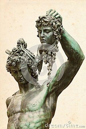 Perseus with the Medusa Gorgon