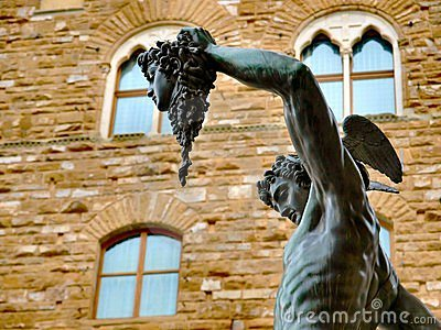 Perseus statue in florence