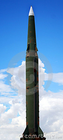 A Pershing II Surface-to-Surface Missile