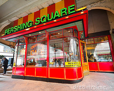 Pershing Square NYC Editorial Image