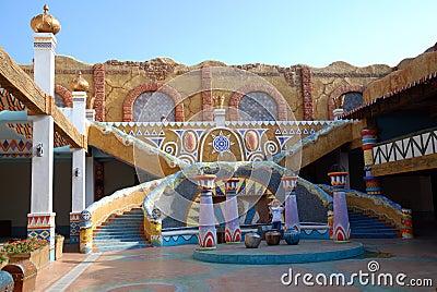 Persia Courtyard