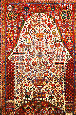 Free Persian Carpet Royalty Free Stock Photo - 14033025