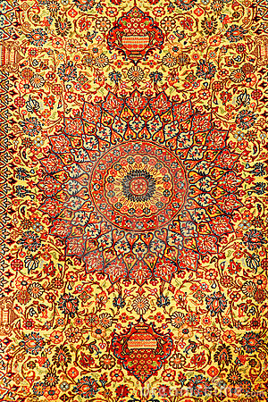Free Persian Carpets Royalty Free Stock Photography - 3847397