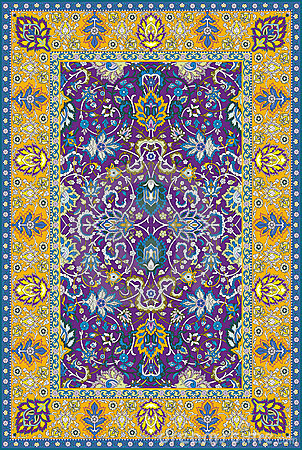 Persian detailed  carpet
