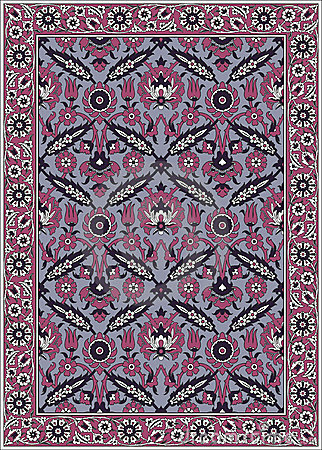 Persian detailed  carpet