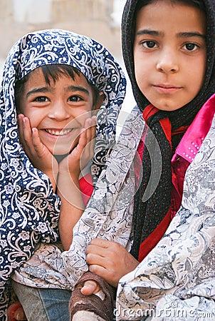 Persian girls Editorial Photo